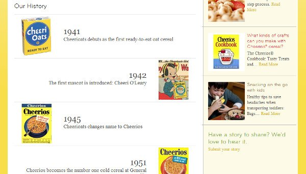 Company History Timeline Examples - The Condiment Marketing Co.