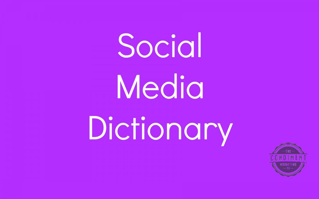 Social Media Dictionary for Small Businesses