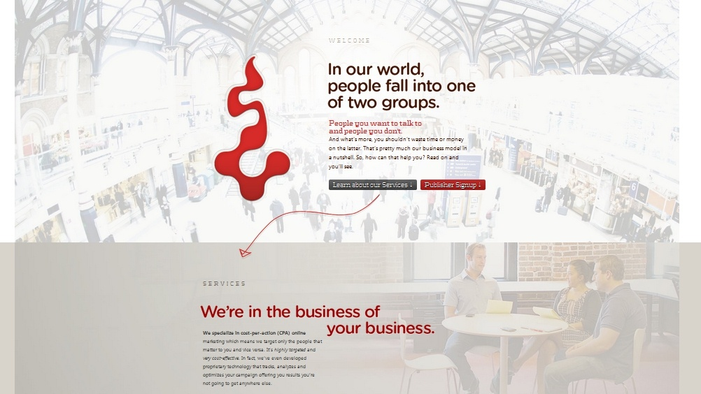Professional Website Examples with Storytelling Appeal