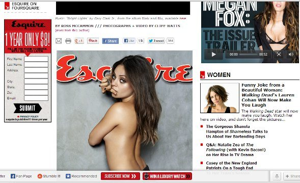 How Magazines Fail at the Online Experience