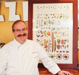 tim ziegler with spices poster