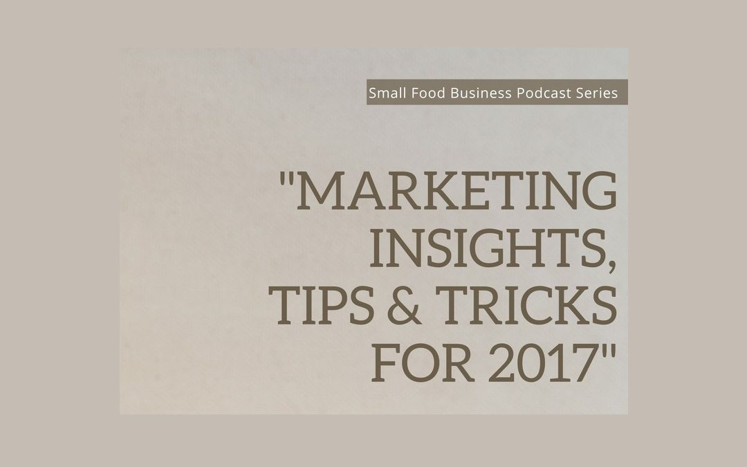 Condiment Marketing on the Small Food Business Podcast